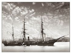 19th Century Sailing Photographs | 19th Century Sailing Ships / Kearsarge USS
