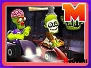 Zombie Karts - What to expect when a zombie gets behind the steering wheel of a go-kart? Total brainless mayhem while battling other karting zombies and causing havoc in spooky environments! Play this game. it's a no brainer! Drag Racing Games, School Games, Karting, Online Gratis, Go Kart, Games To Play, Arcade, Cool Stuff, Kids