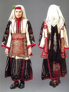 Garments from villiage of Setole , Tetovo area Bulgaria