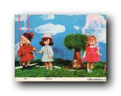 FURGA DEPLIANT SCHEDA TECNICA CATALOGO PER NEGOZIANTI 1964 GINA LOREDANA PINY in Giocattoli e modellismo, Bambole e accessori, Bambolotti e accessori | eBay