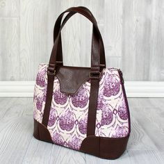 Swoon Sewing Patterns - Harriet Expandable Tote