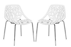 Poly and Bark Birds Nest Dining Side Chair, White, Set of 2 Poly and Bark http://www.amazon.com/dp/B00UT1EBMI/ref=cm_sw_r_pi_dp_gh6vvb009KH0C