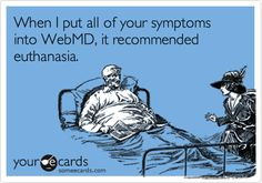 When I put all of your symptoms into WebMD, it recommended euthanasia.