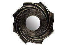 Onex Wall Mirrors, Copper, S/3 on OneKingsLane.com
