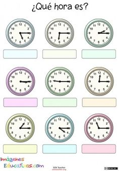 Free Math Worksheets First Grade 1 Telling Time Telling Time Half Hours Draw Clock . 5 Free Math Worksheets First Grade 1 Telling Time Telling Time Half Hours Draw Clock . Clock Worksheets, Free Math Worksheets, School Worksheets, Kindergarten Worksheets, Teaching Resources, Subtraction Worksheets, Printable Worksheets, Math Clock, Learn To Tell Time