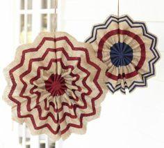 Fourth of July Burlap Stars | Pottery Barn