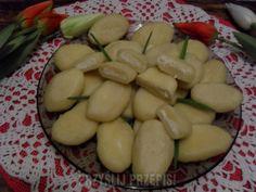 Pierogi z serem po Ukraińsku Good Food, Yummy Food, Polish Recipes, Polish Food, Appetisers, Tortellini, Dumplings, Superfood, Appetizer Recipes