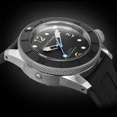 Dream Watches, Luxury Watches, Cool Watches, Watches For Men, Timex Watches, Seiko Watches, Popular Watches, Automatic Watch, Deep Blue