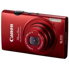 Canon PowerShot ELPH 110 HS 16 Megapixel Digital Camera, Red $189.00