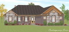 Contemporary floor plan. Home Builders in Indianapolis | Custom Home Builder in Cincinnati | Taylor Homes