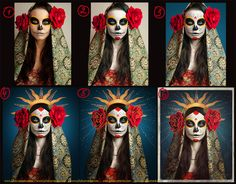 Once in the end of last October I went to our favorite local mexican restaurant with my husband, and saw their posters about the upcoming Día de los Muertos (Day of the Dead, Mexico). Beautiful and…