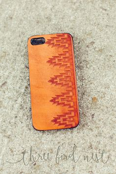 iPhone 5/5s Leather Case