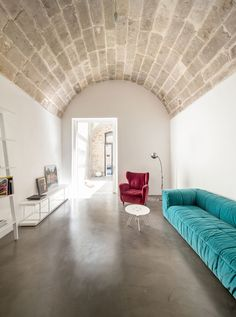 #Architecture in #Italy - #LivingRooms by Giuseppe Gurrieri, Valentina Giampiccolo. ph Filippo Poli