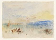 Joseph Mallord William Turner 'The Approach to Venice', 1840