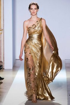 Greek Goddess  Zuhair Murad Spring 2013 Couture Collection - Fashion on TheCut