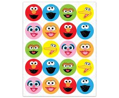 Sesame Street labels