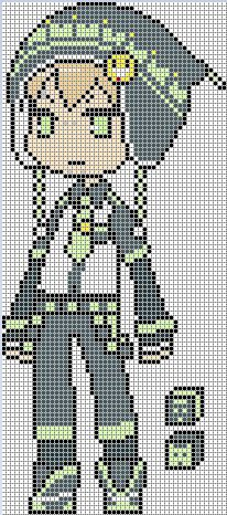 Noiz Perler Pattern by perlerislife on DeviantArt