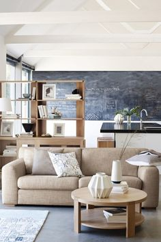 Neutral color In the living room