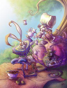 Tea Time by obscureBT on deviantART
