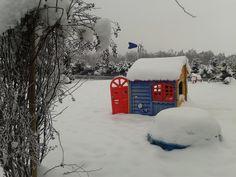 01.02.2014: Es gab in dem Winter ja doch Schnee!