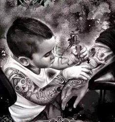 Tattoos For Kids, Girl Tattoos, Tatoos, Cool Drawings, Tattoo Drawings, Tattoo Memes, Aztecas Art, Skull Rose Tattoos, Marilyn Monroe Painting