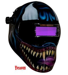 Crazy design fr saving phace. | Welding helmets | Pinterest ...