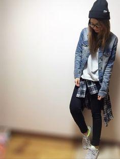 ZARAのスウェットを使ったnyaobuのコーディネートです。WEARはモデル・俳優・ショップスタッフなどの着こなしをチェックできるファッションコーディネートサイトです。