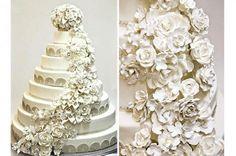 Chelsea Clinton & Mark Mezvinsky Royal Cakes, Extravagant Wedding Cakes, Luxury Wedding Cake, Wedding Cake Prices, Wedding Cake Designs, Wedding Show, Free Wedding, Wedding Wall, Chelsea Clinton Wedding