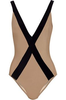 Zeus+Dione Amorgos two-tone swimsuit | NET-A-PORTER