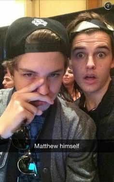 Matthew and Kenny