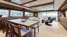 Умопомрачительная моторная яхта 92' Duchessa от компании RIVA