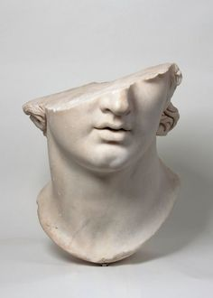 Fragmentary Colossal Head of a Youth Greek Hellenistic period 2nd century B.C…