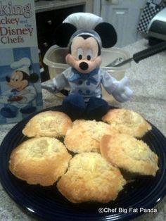 DIY Disney Recipe: Chocolate Chip Crumbcakes | the disney food blog