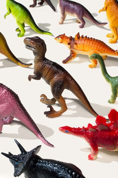 """Toy dinosaurs... I would get very insulted when my mom referred to them as """"dolls""""."""
