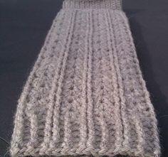 Shells and Cords Leg Warmers: Free #crochet leg warmers pattern