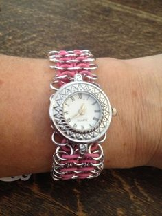 Chainmail horloge