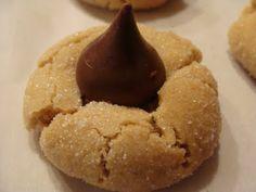 Peanut Butter blossoms - Christmas cookie recipe i like