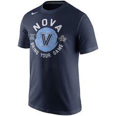 Nike Villanova Wildcats Navy 2016 NCAA Men's Basketball Tournament Final Four Bound Locker Room T-Shirt
