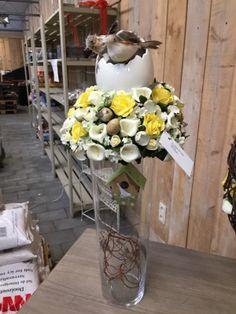 Workshops bloemschikken bij Bloemenland- pasen op vaas