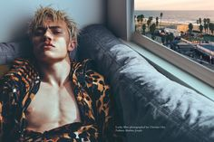 "christianoita: ""  Lucky Blue Smith for Wonderland Photographed by Christian Oita Styled by Matthew Josephs """