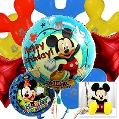 Happy Birthday with Mickey