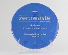 Mountain Rose Herbs is First Oregon Company to Achieve Zero Waste