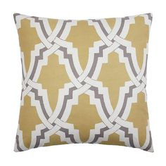 """Z Gallerie - Linx Pillow 24"""" - Pewter"""