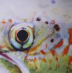 Eye Catching- Diane Michelin   #flyfishing #fly #fishing