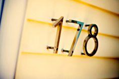 My house numbers    www.stevedepino.com     Soloha.vn chuyên cung cấp sản phẩm giấy dán tường đẹp Hàn Quốc giá rẻ:  http://soloha.vn/giay-dan-tuong-han-quoc.html