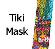 This peyote bracelet pattern is perfect for a Polynesian party, or a trip to Hawaii! Tiki masks are fun for any tropical projects! ***Please Note: