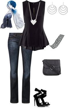 cute for a night out with the girls or with a guy