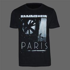 "Rammstein T-Shirt ""Flake PARIS"" | Rammstein-Shop"