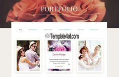 Premium WordPress Themes - Photography Template #WordPress #photography #premium