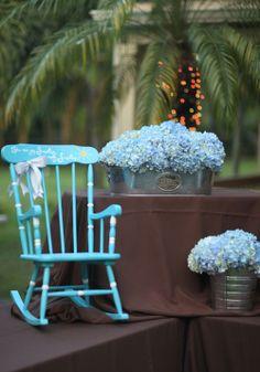 Blue Hydrangeas Prov